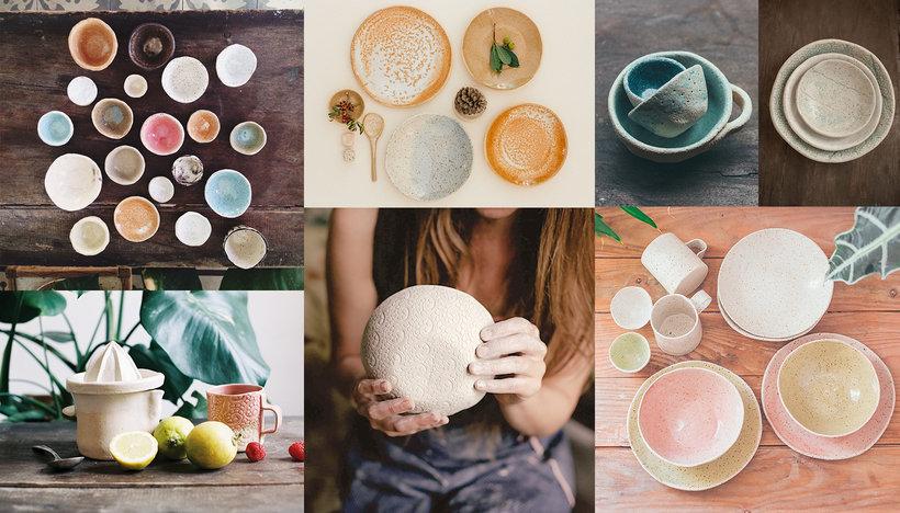 Cer mica creativa da forma a tus ideas con una t cnica - Cocinar en sartenes de ceramica ...