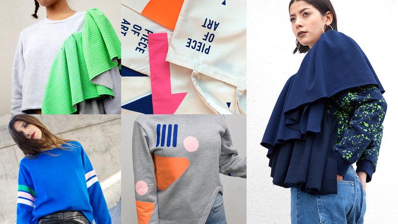 Textile Silkscreen Printing With Stencil Festela Store Online Course Domestika