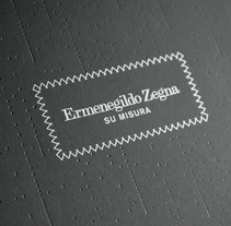 Zegna MTM AW08 Invitation. A Design project by Nuno Coelho - 03-07-2009
