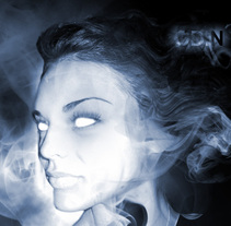 Smoke face. A 3D project by Alberto Rosa  - 23-07-2009