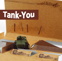 Tank - You. A Art Direction, Graphic Design, Packaging, and Product Design project by Sara Pedrero Díaz - Oct 01 2009 12:00 AM