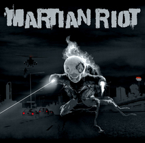 Martian Riot. A Design, Illustration, Advertising, Music, Audio, Motion Graphics, Photograph, Film, Video, TV, UI / UX, and 3D project by M Dead Man - 13-09-2009