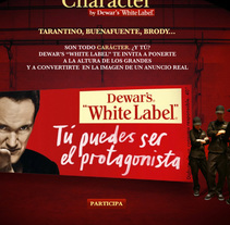 "Whitelabel ""The Main Character"". A Design, Advertising, and Software Development project by Caracool  - 06-11-2009"