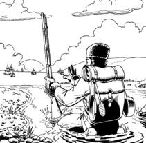 Jack London ilustraciones. Un proyecto de Ilustración de Tomás Morón Aranda - Jueves, 12 de noviembre de 2009 17:02:51 +0100