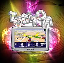 Tomtom XL V2. Un proyecto de Diseño e Ilustración de José Antonio  García Montes - Sábado, 21 de noviembre de 2009 17:48:38 +0100