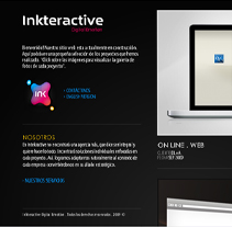 Mi Web. A Design, Motion Graphics&IT project by Jorge García - Nov 25 2009 04:49 PM