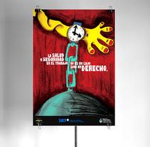 Salud y seguridad laboral. A Design&Illustration project by Aldo Tonelli         - 28.11.2009