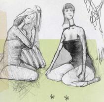 ilustraciones. Um projeto de Ilustração de rodrigo del castillo celis - 20-01-2010