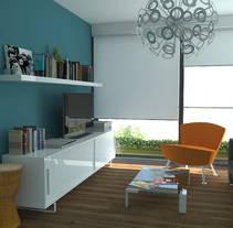 Apartment Madrid. A 3D project by Diego Moreno - 21-01-2010
