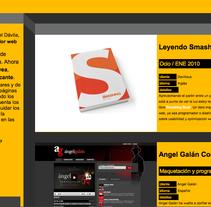 Davilious. Un proyecto de Diseño y Desarrollo de software de Miguel Ángel Dávila Carrasco - Sábado, 23 de enero de 2010 16:27:03 +0100