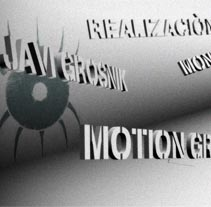 Javi Grosnik // Reel '10. A Motion Graphics, Film, Video, and TV project by Javi García         - 25.01.2010