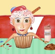 50's sweets. Un proyecto de Ilustración de Áurea Nogués         - 25.01.2010