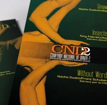 Invitaciones, programas y prensa. Un proyecto de Diseño, Ilustración, Fotografía y Publicidad de Jose Padrino Gomez - Jueves, 11 de febrero de 2010 11:45:27 +0100