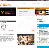 Web Programa Ibermedia. A Design, Software Development, Film, Video, and TV project by seven  - 12-02-2010