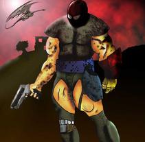 soldado. Un proyecto de Ilustración de Jorge Morales Luis - 12-02-2010