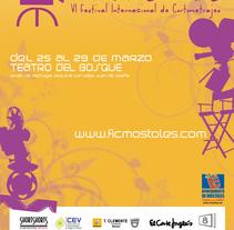 Concepto gráfico - Festival Internacional de Cortometrajes de Móstoles 09. A Design, Film, Video, and TV project by tad zius - Feb 19 2010 02:55 AM