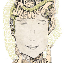 Silence. A Illustration project by Pablo ientile - 31-03-2010
