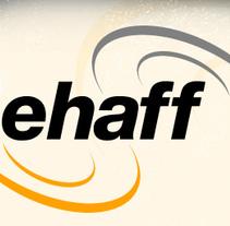 Ehaff fine filtration, logo, folleto.... Un proyecto de Diseño y Publicidad de nathalie figueroa savidan         - 14.01.2011