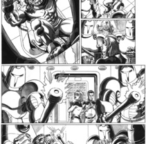 Caged pagina 5. Un proyecto de Ilustración de Tomás Morón Aranda - Sábado, 10 de abril de 2010 08:21:12 +0200