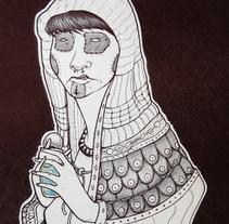 Láminas Tinta (Boligrafo). Un proyecto de Ilustración de francisco javier alvarez garcia         - 12.04.2010