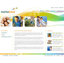 Marina Salud. A Design, Illustration, and UI / UX project by Ester Santos Poveda - Apr 25 2010 04:12 AM