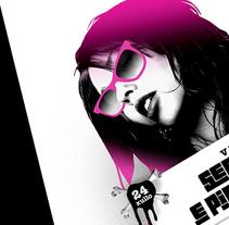 Festival Sereas e Piratas 10. Um projeto de Design, Ilustração, Publicidade, Música e Áudio e Fotografia de Gende Estudio         - 13.05.2010