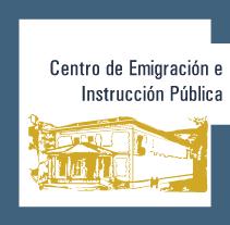 Centro de Emigración e Instrucción Pública. Un proyecto de Diseño de Ana Fandiño Fdez.         - 18.05.2010
