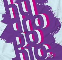 Diseños de camisetas para Hydroponic. Un proyecto de Diseño de Guillermo Lucini  - 09-07-2010