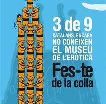 Hazte de la colla. Un proyecto de Diseño, Ilustración y Publicidad de Antonio  Vivancos - 12-07-2010