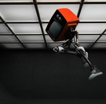 TV robot. A Design, Motion Graphics, and 3D project by Facundo Samman         - 19.07.2010