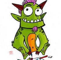 Infantil. Un proyecto de Ilustración de Sara  - Viernes, 23 de julio de 2010 16:34:56 +0200