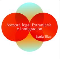 Logo . .  Abogada Karla Tilac. Um projeto de Design e Publicidade de Dulce         - 13.08.2010