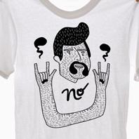 Camisetas Mo. Um projeto de Ilustração de Júlia  Solans         - 19.08.2010