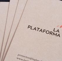 La Plataforma. A  project by Tres Tipos Gráficos  - 07-09-2010