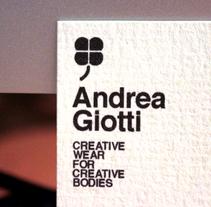 Andrea Giotti. Un proyecto de Diseño e Ilustración de Pablo Chavida Cancelo - 16-09-2010