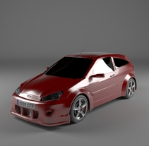Ford Focus TDCI. A 3D project by Felipe Cambas Cancelo - 05-10-2010
