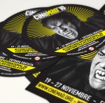 Cinemad. Un proyecto de Diseño, Publicidad y Motion Graphics de Ben Galvin         - 31.10.2010