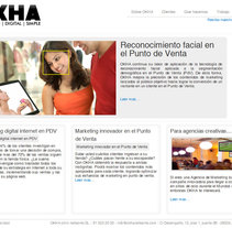 Okha. A Design, Software Development, and UI / UX project by Raul Valverde         - 12.11.2010