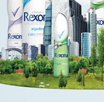 REXONA GIRL. A Design, and Advertising project by Alexandra  Valdivieso - 14-11-2010