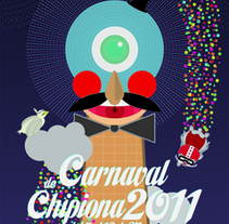 Carnaval de Chipiona 2011. A Design&Illustration project by Rodrigo García - 15-11-2010