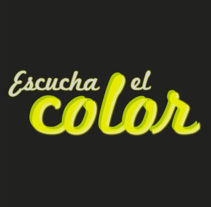 Escucha El Color. A Design, Illustration, Advertising, Motion Graphics, Photograph, Film, Video, TV, and 3D project by Juan Angel Medina Sanchez - Mar 15 2012 09:16 PM