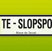 TE- SlopSpot. A Design, Illustration, Advertising, and Photograph project by Marc Perelló         - 18.11.2010