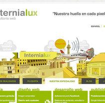 Internialux. Un proyecto de Diseño, Publicidad, Desarrollo de software y Fotografía de Francisco Bueno         - 15.12.2010