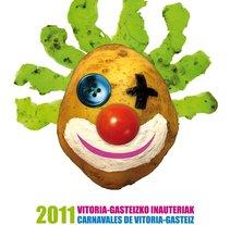 Propuesta Cartel Carnaval Vitoria-Gasteiz 2011. Um projeto de Design de Raul Piñeiro Alvarez         - 16.12.2010