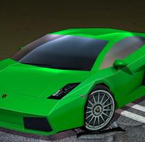Lamborghini Gallardo. Un proyecto de 3D de Rob Diaz         - 19.12.2010