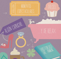 Tarjeta de Felicitación Navideña. A Design&Illustration project by Lore Vigil-Escalera aka (LOV-E) - 20-12-2010
