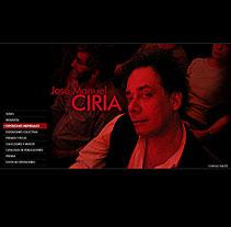 Ciria. Un proyecto de Diseño, Publicidad e Informática de César Candela - Viernes, 31 de diciembre de 2010 00:20:26 +0100