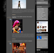 Blog Focus on Women. A Design project by Jaime López Revuelta - Jan 04 2011 12:45 PM