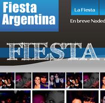 Fiesta Argentina. Um projeto de Design, Ilustração, Motion Graphics, Desenvolvimento de software e Fotografia de miodesign  - 26-01-2011
