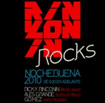 Rinkonin Rocks. A Design&Illustration project by Luis Sierra         - 04.02.2011